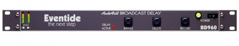 Eventide BD960  Broadcast Obscenity Delay With 8 Seconds Stereo Delay BD960