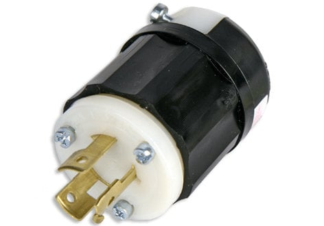 Lex Products Corp 9965-C  20 Amp 125/250 VAC Non-NEMA Locking Male Plug 9965-C