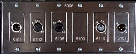 Pathway Connectivity 5102 Female 5-pin XLR Insert P5102
