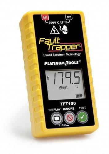 Platinum Tools Fault Trapper Arc Fault Circuit Tester and Fault Locator TFT100