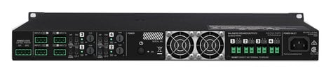 Lab Gruppen E 10: 4 Power Amplifier, 4 x 250 W, 70V or Low Impedance With 1RU E10-4