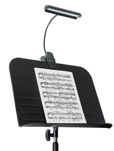 Gator Cases GFW-MUS-LED Frameworks Clip-on LED Music Lamp with Adjustable Neck GFW-MUS-LED
