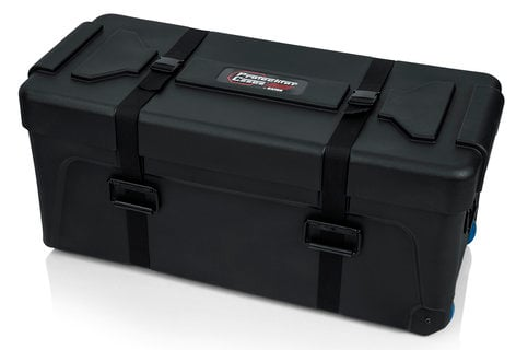 Gator Cases GP-TRAP-3614-16 Deluxe Molded Drum Hardware Trap Case with Removable Tray and Recessed Wheels GP-TRAP-3614-16