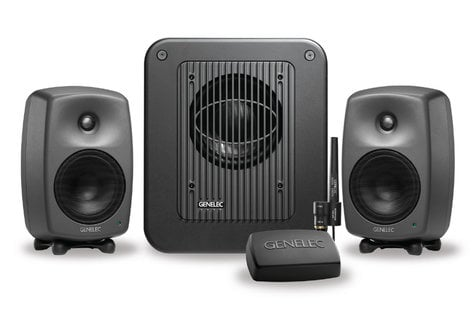 Genelec 8330.LSE Triple SAM Studio Monitor Kit with Two 8330As, One 7350A Subwoofer and GLM V2.0 User Kit with Vol 8330LSE-TRIPLE-SAM
