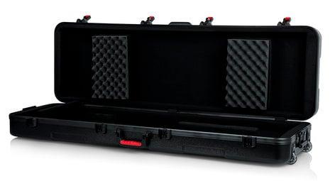 Gator GTSA-KEY88SL TSA Series ATA Molded Slim 88-Note Keyboard Case with Wheels GTSA-KEY88SL
