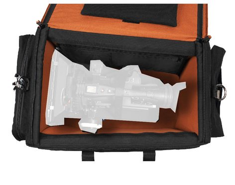 Porta-Brace DVO-3ROR Black Digital Video Organizer with Off-Road Wheels DVO3ROR