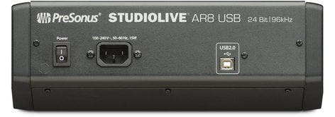 presonus studiolive ar8 8 channel analog hybrid mixer with effects recorder usb interface. Black Bedroom Furniture Sets. Home Design Ideas