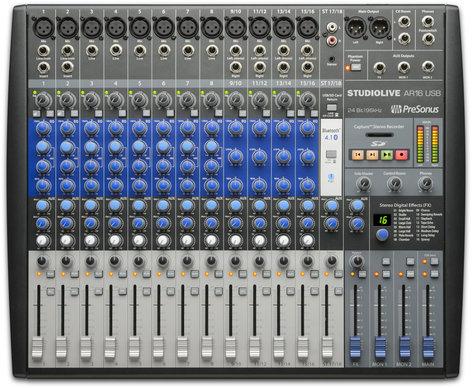 PreSonus STUDIOLIVE-AR16 StudioLive AR16 USB 16-channel Hybrid Performance and Recording Mixer STUDIOLIVE-AR16
