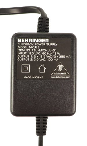 Behringer G81-79142-25888 Power Supply for MX, UB, and Xenyx Series G81-79142-25888
