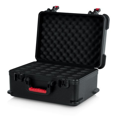 Gator GTSA-MIC30 TSA Series ATA Case for Up to (30) Wired Microphones GTSA-MIC30