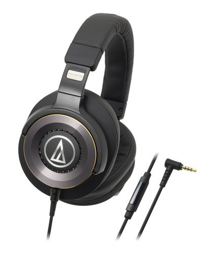 Audio-Technica ATH-WS1100iS Over-Ear Headphones, Closed ATH-WS1100IS