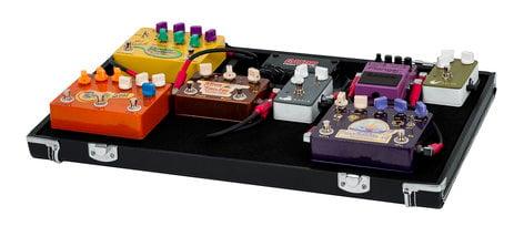 Gator Cases Gig Box Jr All-In-One Pedal Board/Guitar Stand Case GW-GIGBOXJR