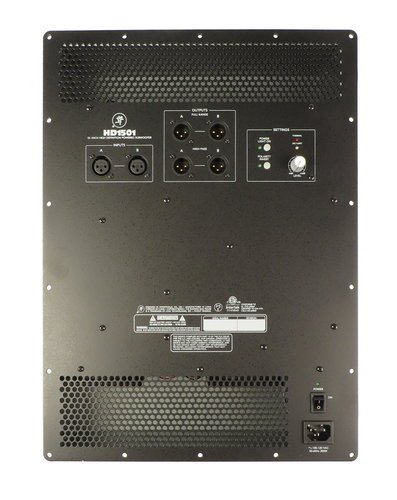 Mackie 2036312 Complete Amp Assembly for HD1501 2036312