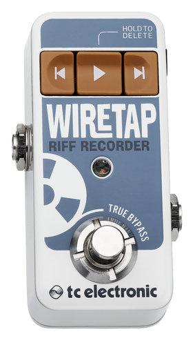 TC Electronic WireTap Riff Rrecorder FX Pedal WIRETAP