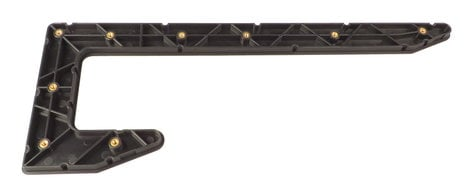 Allen & Heath AH-AA8771-R  Right Side Plastic End Panel for QU-24 AH-AA8771-R