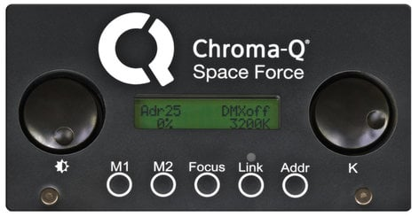 Chroma-Q CHSPFVLR Space Force™ Variable LED with Bridle and LumenRadio CHSPFVLR