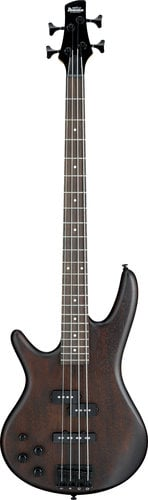 Ibanez GSR200BLWNF 4-String Left-Handed Electric Bass Guitar, Walnut Flat Finish GSR200BLWNF
