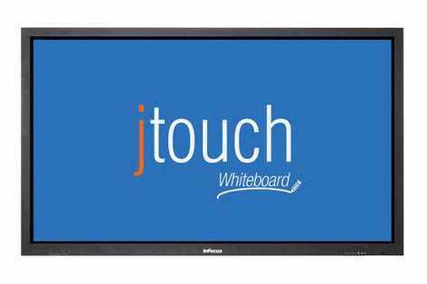 "InFocus INF6502WBAG [EDUCATIONAL PRICING] 65"" Capacitive Touch, Anti-Glare JTouch with Built-In Whiteboard INF6502WBAG"