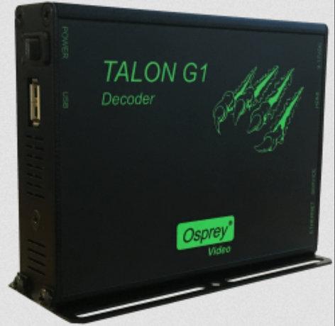 Osprey Video TALON-G1-DECODER  Hardware Decoder with HDMI Output TALON-G1-DECODER