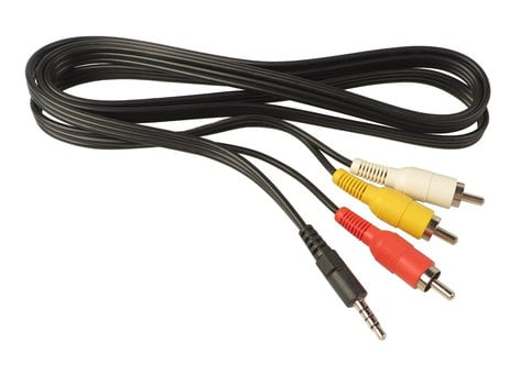 JVC QAM0509-001  Multi A/V Cable for GZMG330AUS QAM0509-001