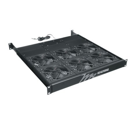 Middle Atlantic Products FTA-6  1RU Fan Tray with (6) Fans, 414 CFM FTA-6