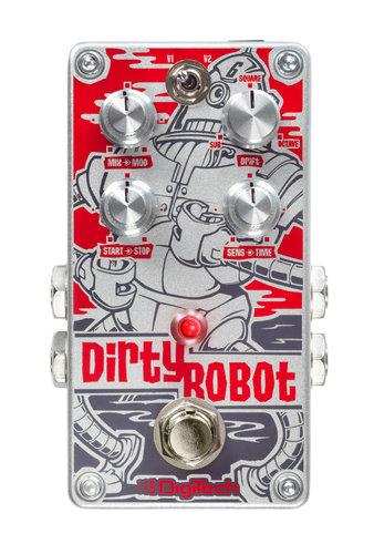 DigiTech Dirty Robot Stereo Mini-Synth Guitar Pedal DIRTYROBOT-U