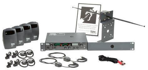 Listen Technologies LS-42-072  Listen Essentials Starter Stationary RF System, 72 MHz LS-42-072