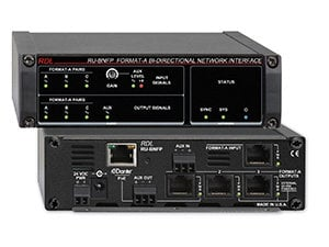 Radio Design Labs RU-BNFP Format-A Bi-Directional Network Interface, With PoE RU-BNFP