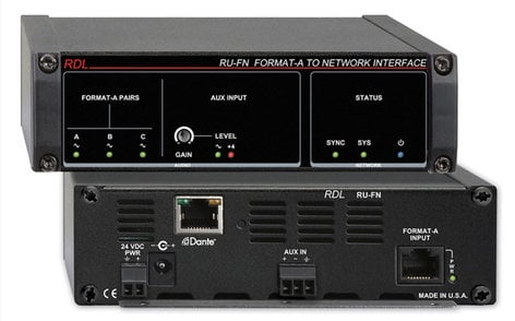 Radio Design Labs RU-FN  Format-A to Network Interface  RU-FN