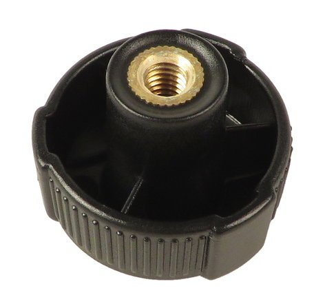 K&M Stands 03.22.696.55  Black Knob for 18880 03.22.696.55