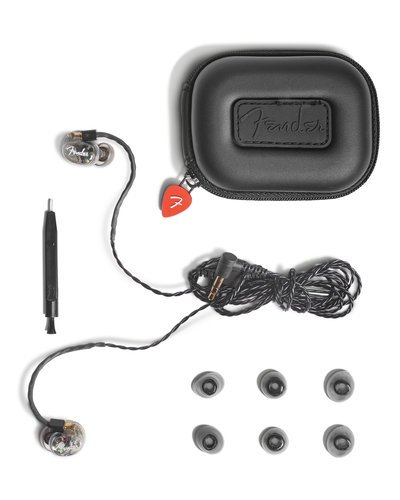 Fender DXA1 Professional In-Ear Monitors With Custom 8.5 mm Titanium Micro Drivers DXA1