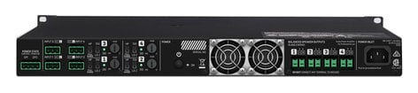 Lab Gruppen E 5:4 4-Channel Amplifier, Delivering 4x125 W At 4, 8, Or 16 Ohms Or 70 Vrms E5-4