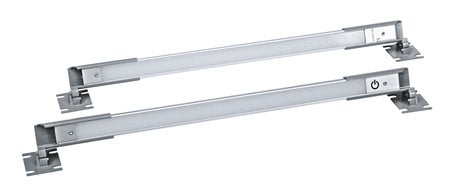 Middle Atlantic Products Dual LED Work Light (2) Rackmount LED Work Lights with Interconnect Cable LT-CABUTL-DUAL