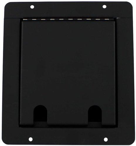 Pro Co PFB-2FX2TRS Sound Pocket Mini Floor Box with 2 XLRF Connectors, 2 TRS Connector PFB-2FX2TRS