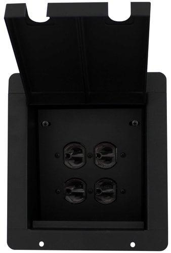 Pro Co PFB-2AC  Pro Co Sound Pocket with 2-Duplex AC Connectors PFB-2AC