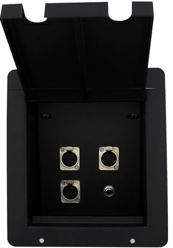 Pro Co PFB-3FX1TS  Pro Co Sound Pocket with 3-XLRF and 1-TS Connectors PFB-3FX1TS