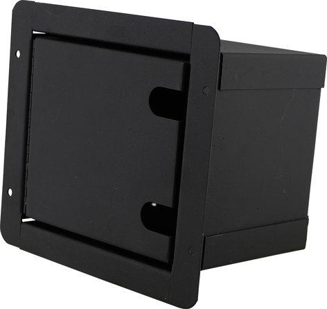 Pro Co PFB-6XF Sound Pocket Mini Recessed Floor Box with 6 XLRF Connectors PFB-6XF