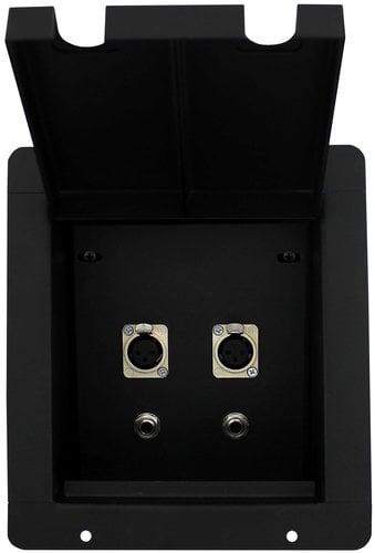 Pro Co PFB-4XF2TS  Pro Co Sound Pocket with 4-XLRF and 2-TS Connectors PFB-4XF2TS