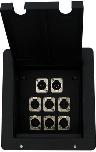 Pro Co PFB-6XF2XM Pro Co Sound Pocket with 6-XLRF and 2-XLRM Connectors PFB-6XF2XM