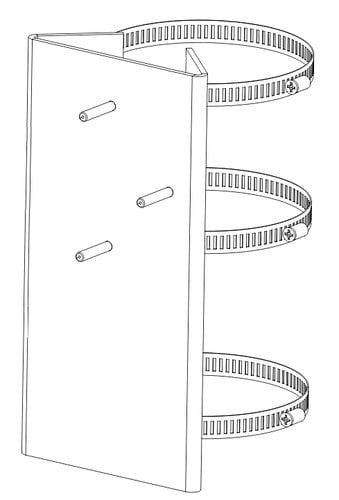 Altman ODEC-PMA Altman Pole Mount Adapter for Outdoor Ellipsoidal ODEC-PMA