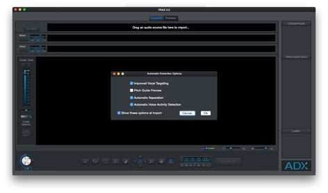 Audionamix TRAX 3 Audio Source Separation Software TRAX