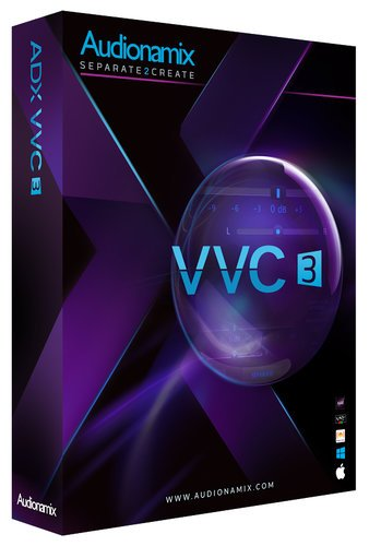 Audionamix VVC 3 Mixing and Mastering Plugin Software [ELECTRONIC DELIVERY] VVC