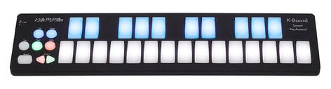 Keith McMillen Instrument K-Board USB Smart Keyboard for iOS/Android/Mac/Win K-716