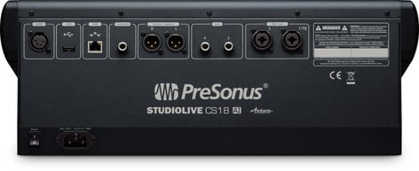 PreSonus SLCS18AI-RST-01 StudioLive CS18AI [RESTOCK ITEM] Ethernet/AVB Control Surface for StudioLive RM Mixers with 18 Touch-Sensitive Moving Faders SLCS18AI-RST-01