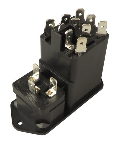 Hartke 8-J01210520080 AC Inlet IEC Jack for HA3500 and HA7000 8-J01210520080