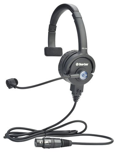 Clear-Com CC-110-X4  Lightweight Single-Ear Headset 4-Pin Female XLR CC-110-X4