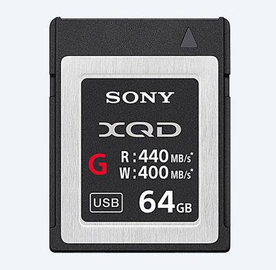 Sony QDG64E/J 64GB XQD, 440MB/s G Series Memory Card QDG64E/J