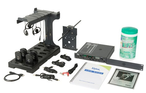 Listen Technologies LS-70-072  Listen iDSP Prime Level IV Stationary RF System, 72 MHz LS-70-072