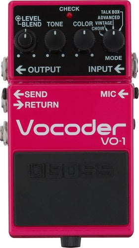 Boss VO-1 Vocoder Effects Pedal VO-1