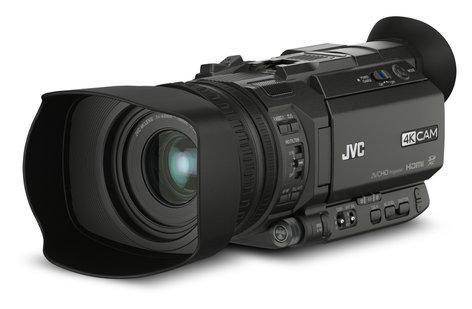 JVC GYHM170U-MIC-PROMO 4KCAM Compact Handheld Camcorder with Integrated 12x Lens & FREE Mic GYHM170U-MIC-PROMO